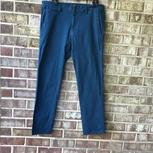 MATCH MEN SLIM TAPERED STRETCHY CASUAL PANTS
